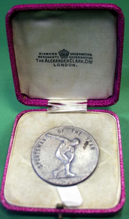 1946 Medal Front In Presentation Case