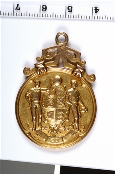 1901 FA Cup Winners Medal