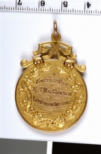 1921 FA Cup Winners Medal - Rear