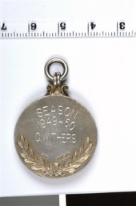1949 - 50 2nd Division Championship Medal