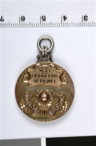 1949 - 50 2nd Division Championship Medal - Rear