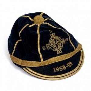 1958 1959 Northern Ireland International Football Cap