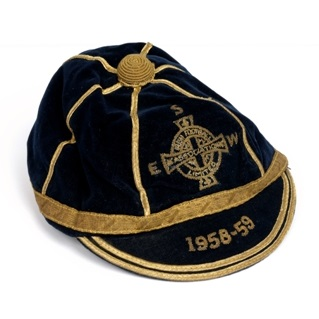 1958/9 Northern Ireland Cap