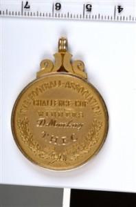 1962 FA Cup Winners Medal - Rear