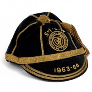 1963 1964 Scotland International Football Cap