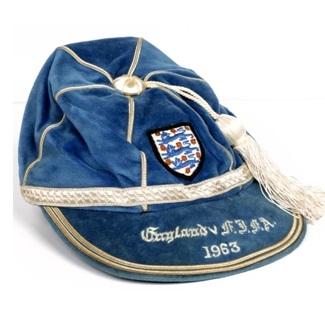 1963 England Cap