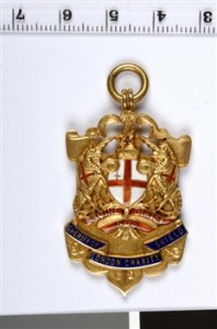 Sheriff of London Charity Shield Medal