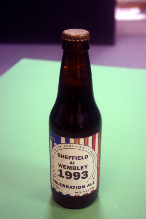 1993 Sheffield At Wembley Celebration Ale