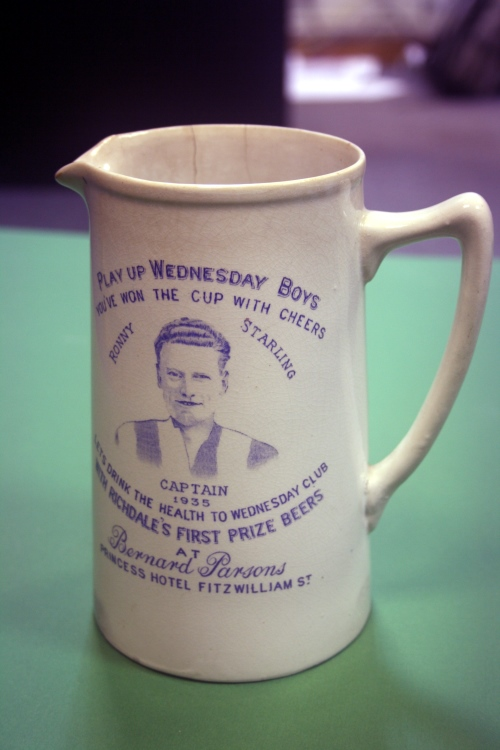 Sheffield Wednesday 1935 Jug