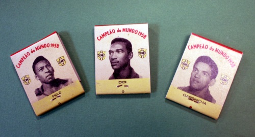 1958 World Cup Brazil Player Match Books