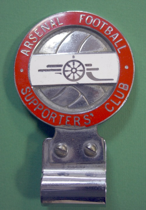 1960s Arsenal Car Badge