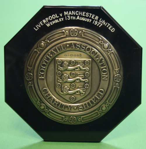 1977 Charity Shield Plaque