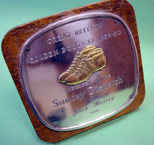 Jack Kelsey Golden Boots XI 1959/60