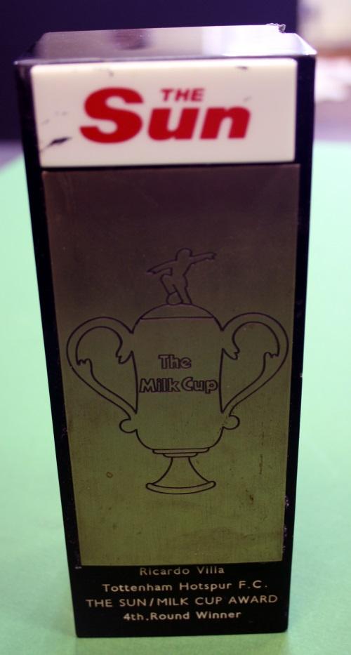 Ricardo Villa Milk Cup Award