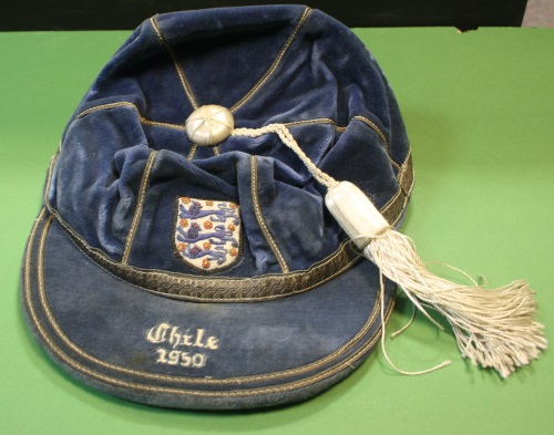 Sir Tom Finney 1950 Cap v Chile
