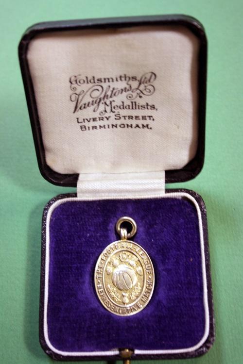 Stan Mortensen 1949 Football League v Scottish League Medal