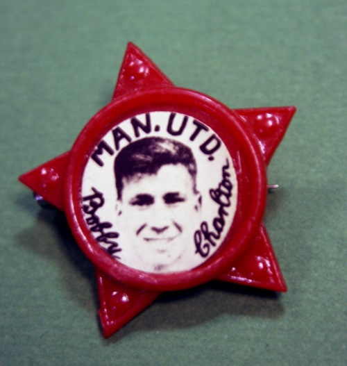 Bobby Charlton Manchester United Star Badge