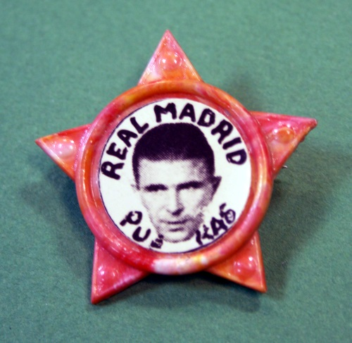 Ferenc Puskas Real Madrid Star Badge