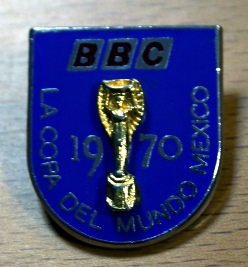 Official BBC Employee Badge World Cup 1970