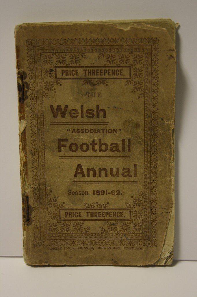 Welsh Association Football Annual 1891/92 Season