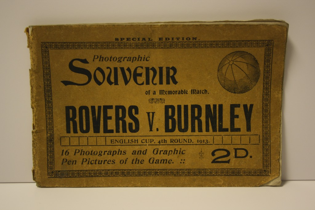 Blackburn Rovers v Burnley Souvenir Photo Book