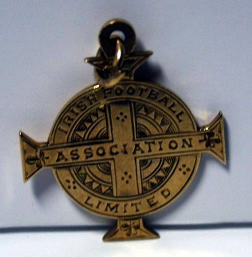 Joe Bambrick 1930 Irish Cup Winners Medal