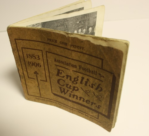 1883 - 1906 English Cup Winners and Wolves Fixture List Booklet