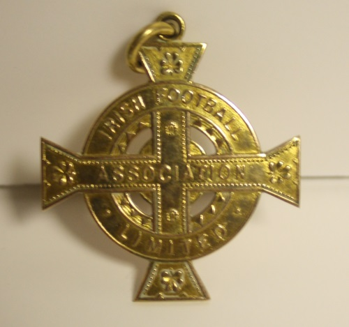Jack Vernon 1942/43 Irish Cup Winners Medal