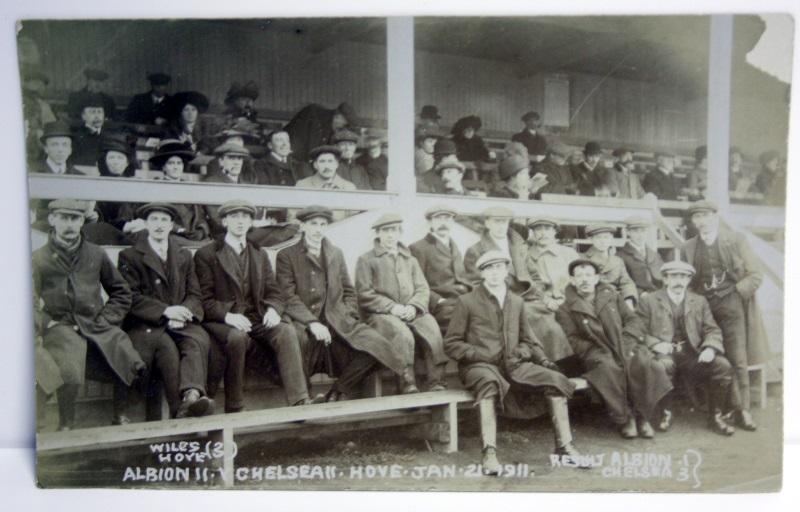 Vintage Football Photo Brighton v Chelsea 1911