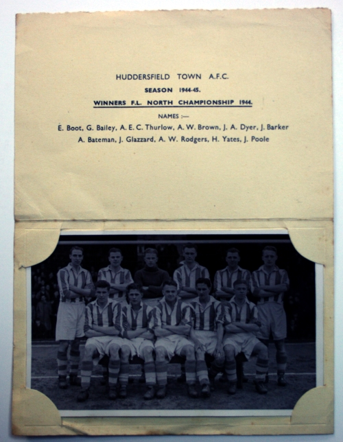 Huddersfield Town 1944/45 Team Photo