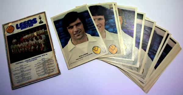 Leeds United 1974 Squad Player Cards