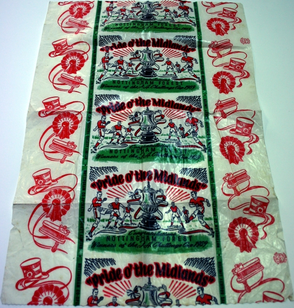 Nottingham Forest 1959 FA Cup Final Bread Wrapper