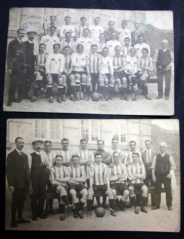 1911 Sheffield Wednesday Tour Of Denmark