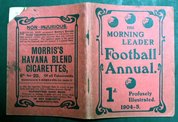 1904-5 Morning Leader Football Annual