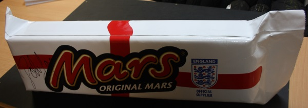 John Barnes Giant Mars Bar