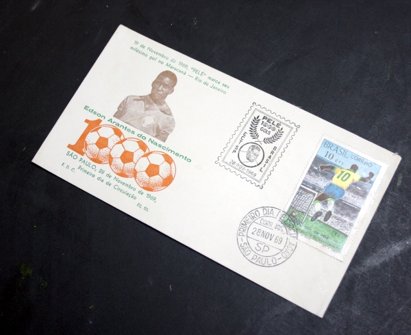 Pele 1000 Goals First Day Cover