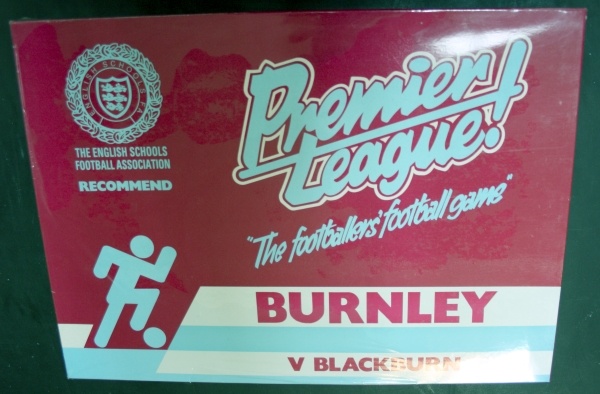 Burnley v Blackburn Table Football Game
