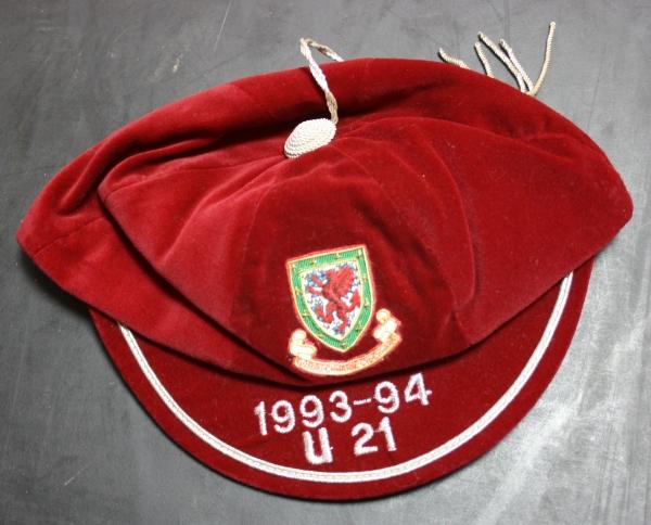 1993/4 Wales Under-21 International Cap