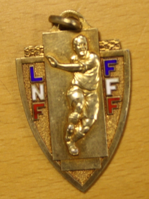 1963 Yvon Douis French League One Winners Medal