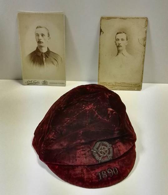 1890 England Cap - William Townley