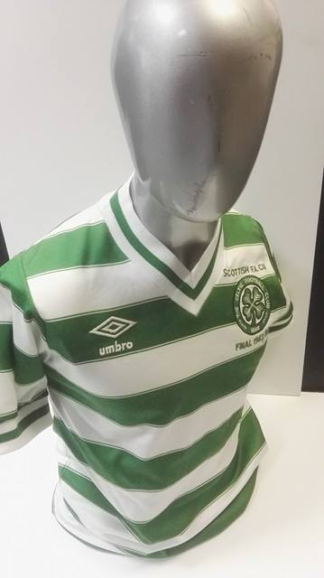 Celtic FC matchworn shirt collector
