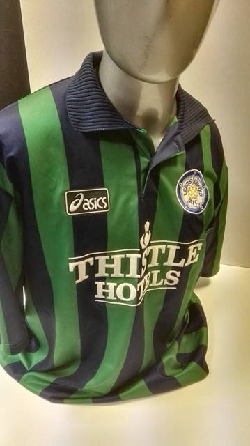 Matchworn Nigel Worthington - 1995/96 Leeds United Away