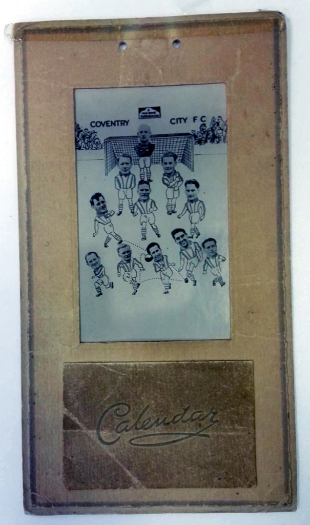 Coventry City FC memorabilia collector