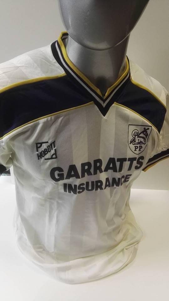 Preston North End 1986/7 Matchworn Shirt