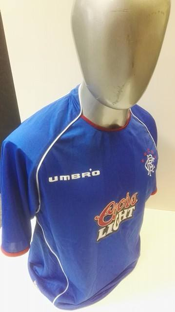 Glasgow Rangers matchworn shirt collector