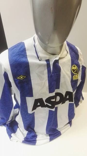 Trevor Francis - Matchworn Sheffield Wednesday 1991 League Cup Final Shirt