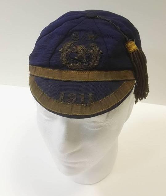 1911 Scotland International Cap