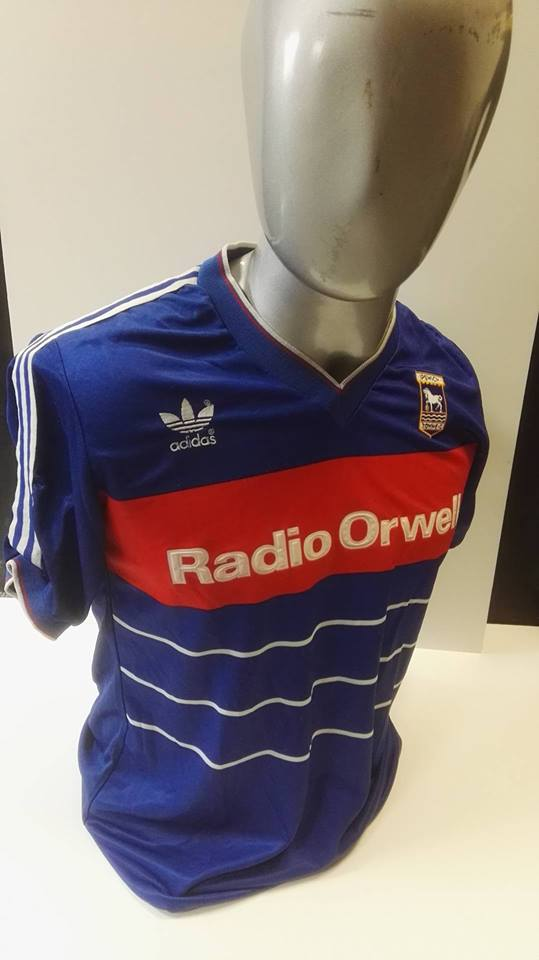 Matchworn Ipswich Town 1985/6 Home Shirt