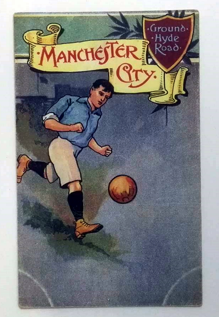 Manchester City Hyde Road Ground Postcard