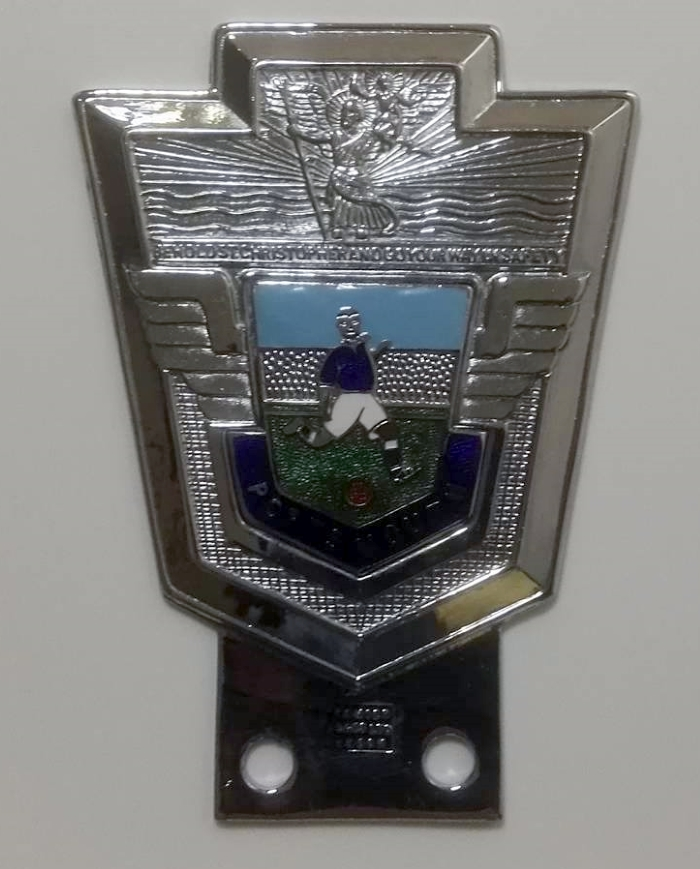 Portsmouth FC Vintage Car Badge